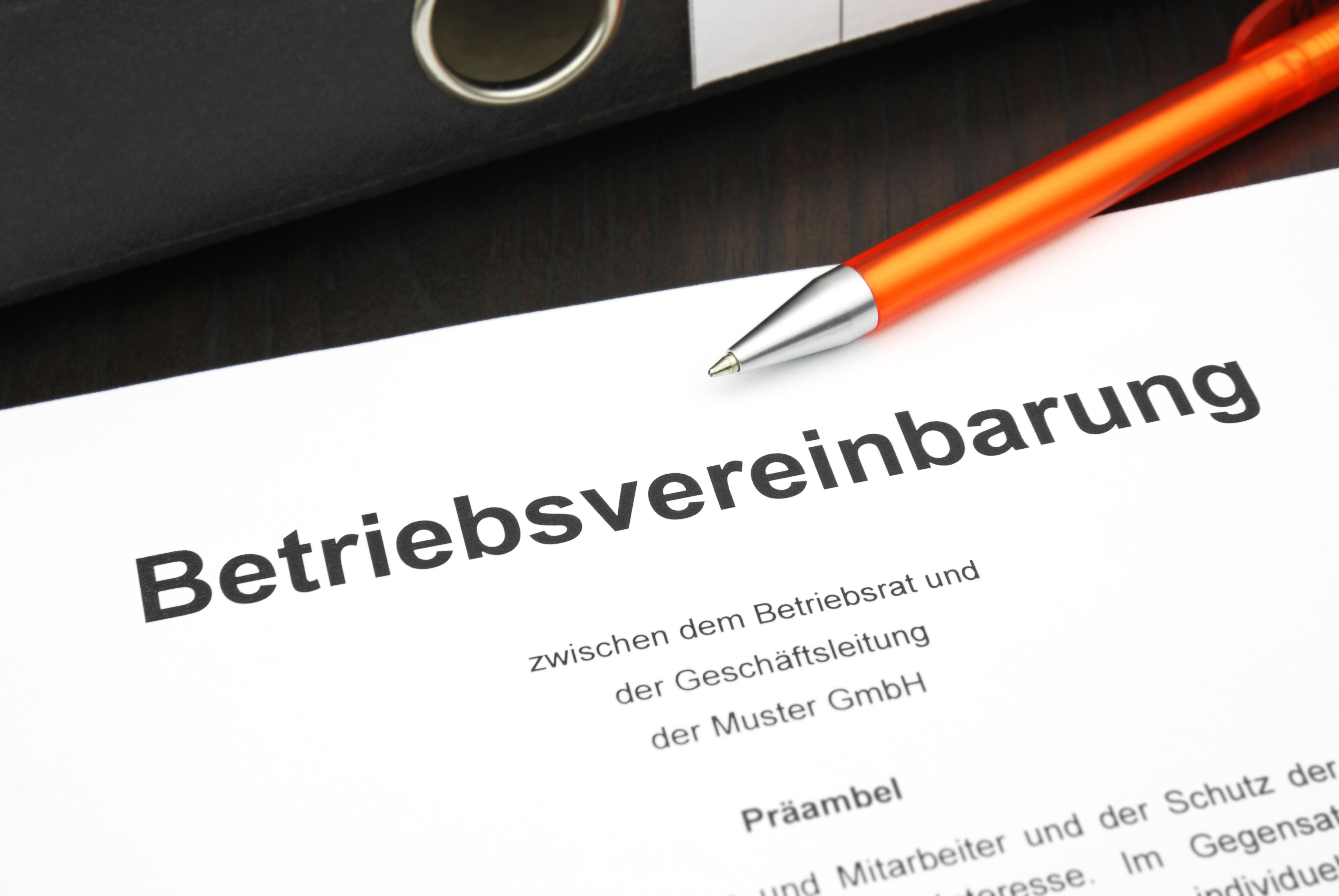erlschen einer betriebsvereinbarung durch kndigung mglich arbeitsrecht online - Muster Betriebsvereinbarung